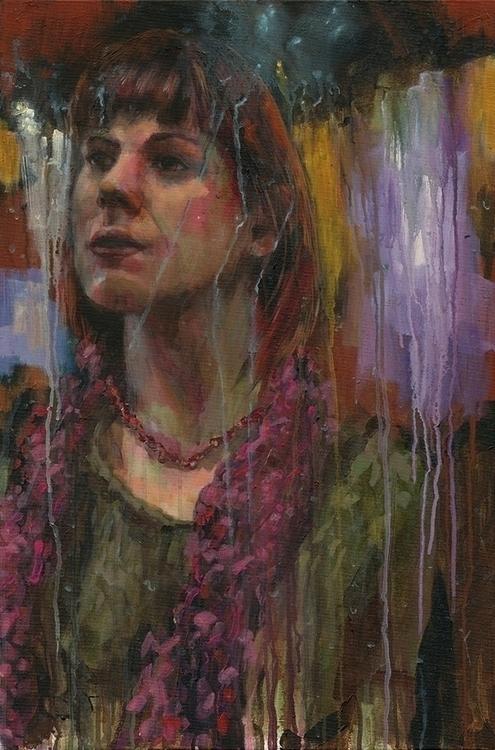 Kendra Acrylic canvas | 20 30 i - mattcauley | ello