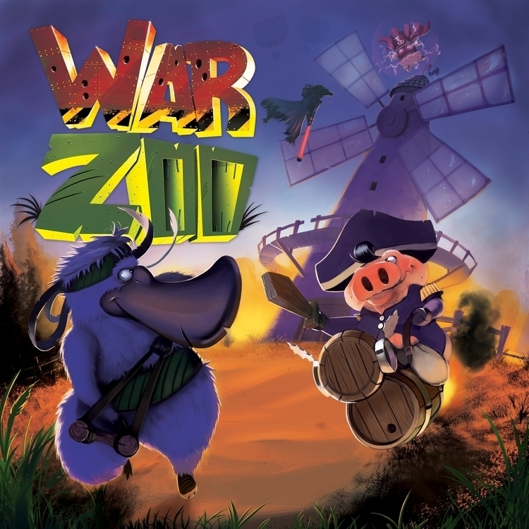 Warzoo Game Cover - illustration - leleskine | ello
