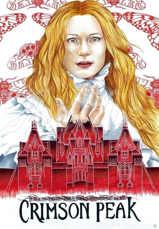 Crimson Peak Poster Featuring c - aeme | ello
