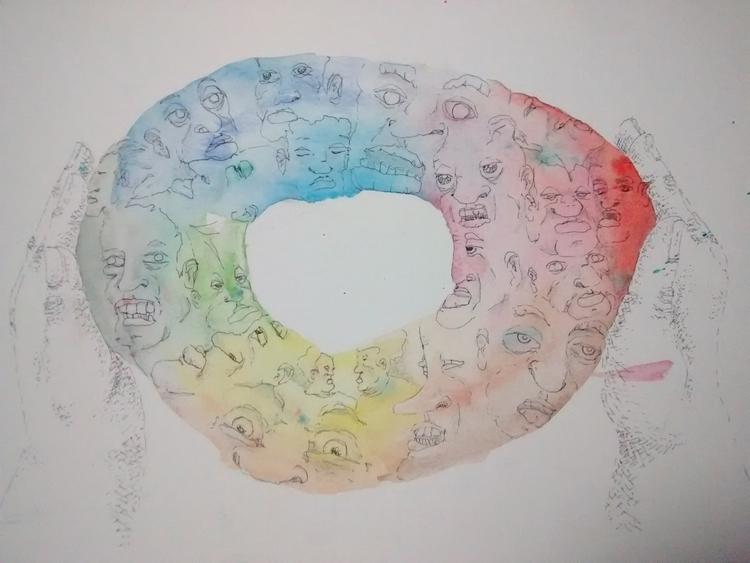 illustration, acuarela - garufa | ello