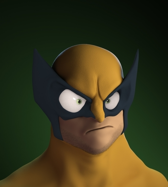 Wolverine Bust - based Randy Bi - gmad | ello