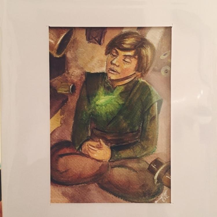 illustration, painting, gouache - roxanneeee | ello