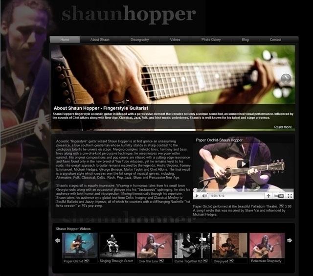 Shaun Hopper - Drupal web desig - infinitee | ello