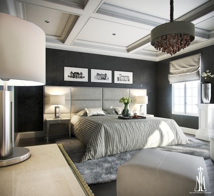 Bedroom design - 3dsmax, interiordesign - arqmarenco | ello