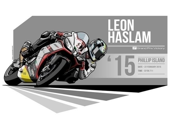 Leon Haslam - 2015 Phillip Isla - evandeciren   ello