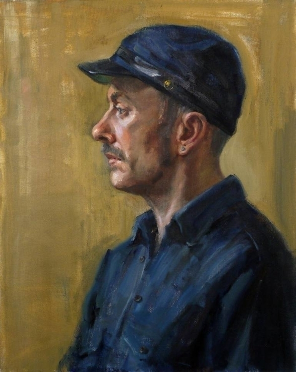 Jonny / Painting life Oil canva - pitchanan | ello