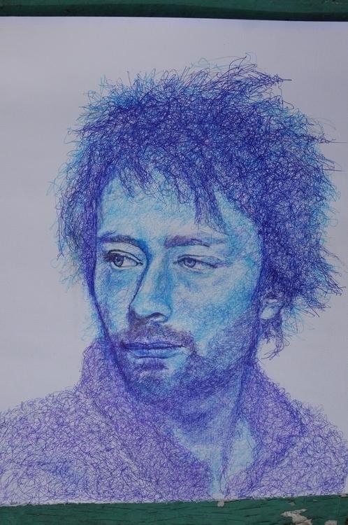 Thom Yorke - thomyorke, drawing - el_compy | ello