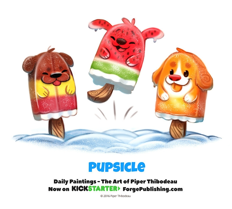 Day 1372. Pupsicle - piperthibodeau | ello