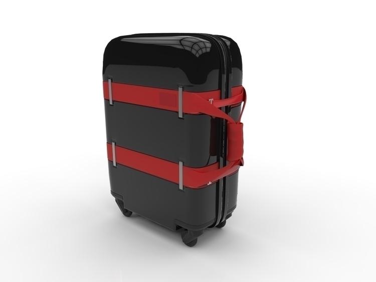 Travel Bag - 3d, blender, render - 3dbrianrincon | ello