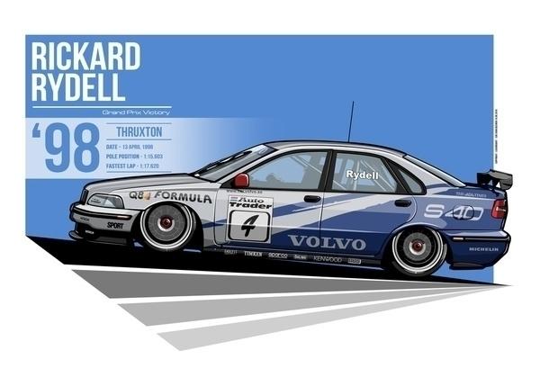 Rickard Rydell - 1998 Thruxton - evandeciren | ello