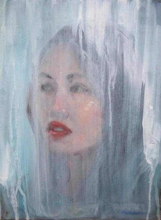 Transparent / Oil canvas - painting - pitchanan   ello
