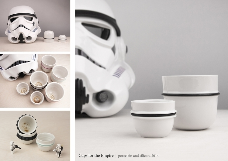 Porcelain coffee cups Empire - starwars - imreszti | ello