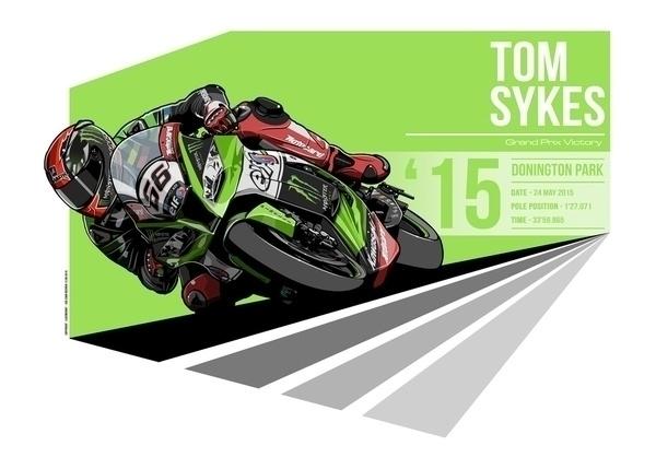 Tom Sykes - 2015 Donington Park - evandeciren | ello