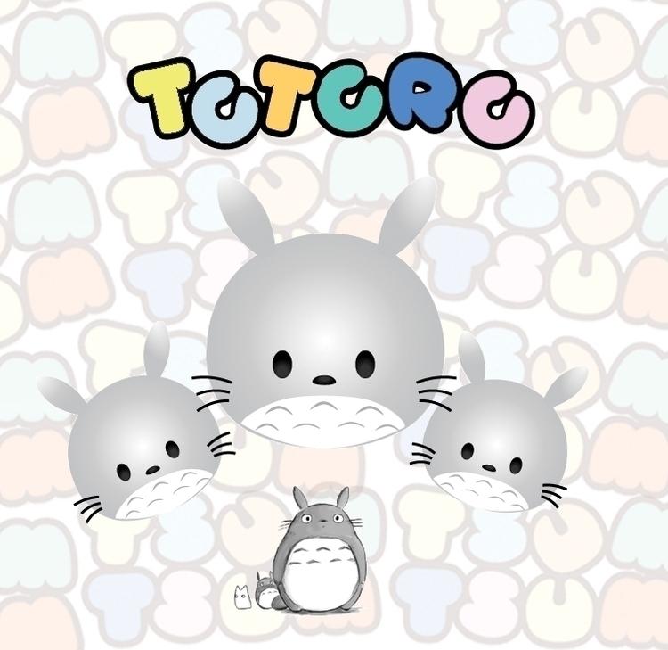 totoro, myneighbortotoro, tsumtsum - roxanneeee | ello