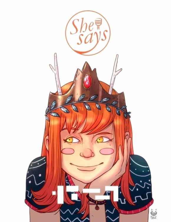 illustration, characterdesign - maodraws | ello
