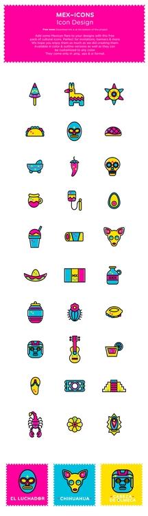 Add Mexican flare designs free  - inkbytestudios | ello