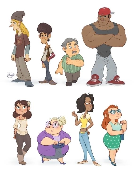 Random Characters 1 - luigil-2352 | ello
