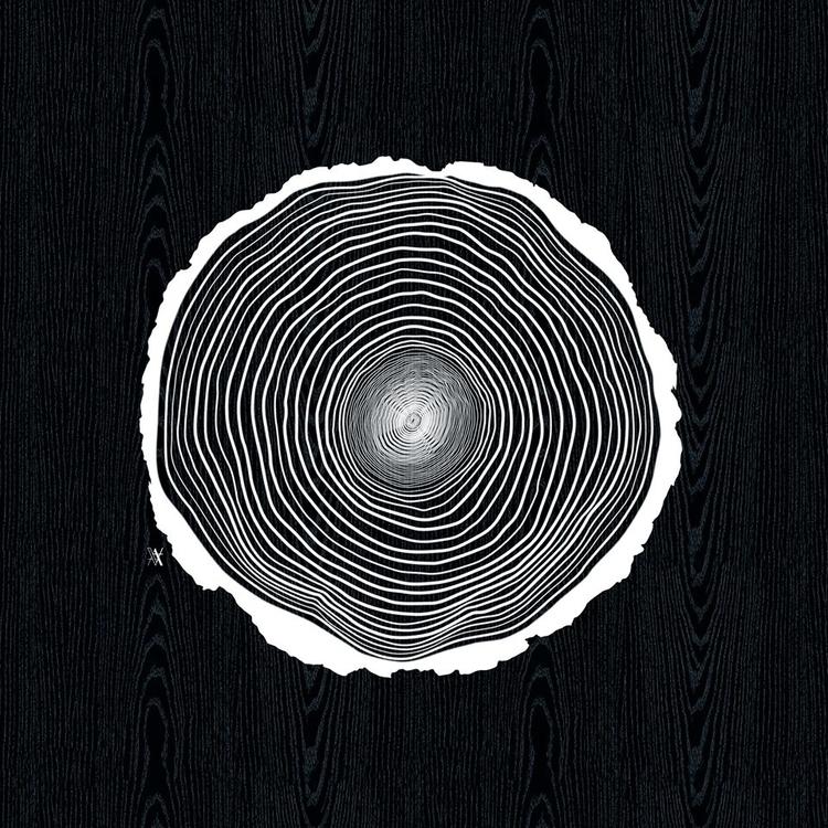 Buche lines - illustration, digitalart - akumimpi | ello