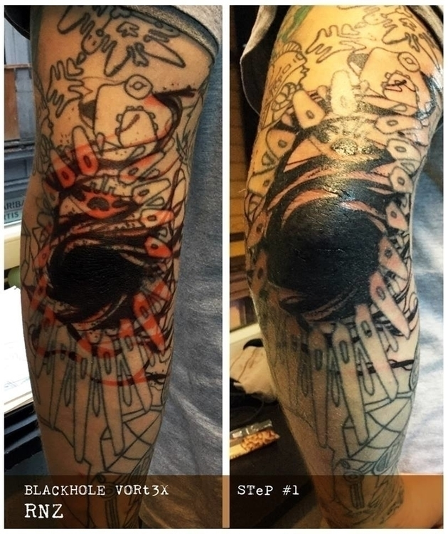 blackhole, tattoo, graphic - rnz-3378 | ello