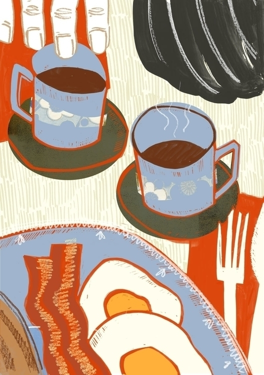 Breakfast important - illustration - lennlish | ello