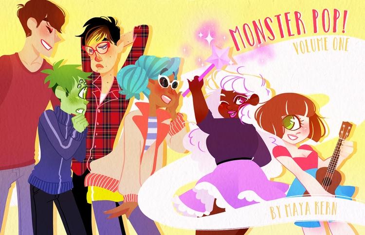 monster pop! kickstarter live f - mayakern | ello