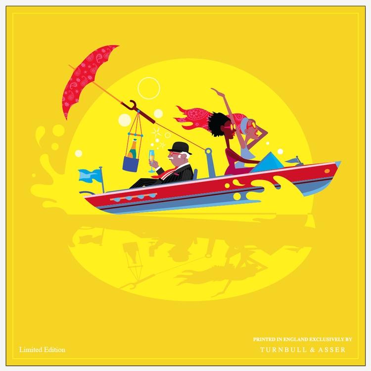 St. James speedboat - riva, girls - drawgood | ello