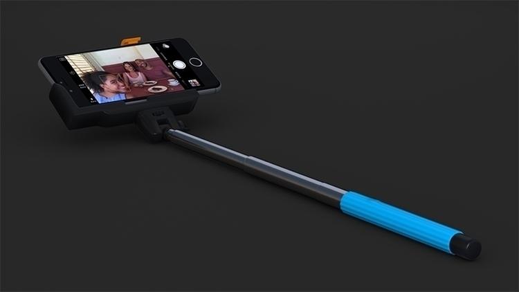 Selfie Stick - blender, 3d, realistic - 3dbrianrincon | ello