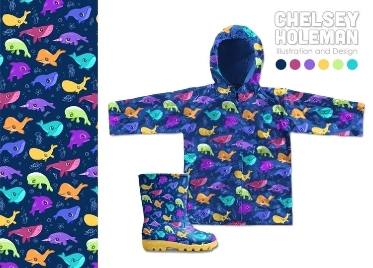 ready spring! colorful whale pa - chelschmitz   ello