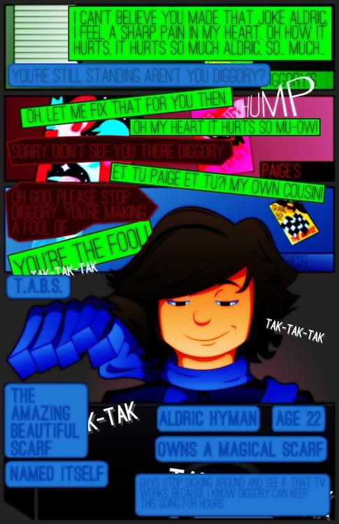 Channel Pandora - Page 7 - webcomic - nakkers | ello