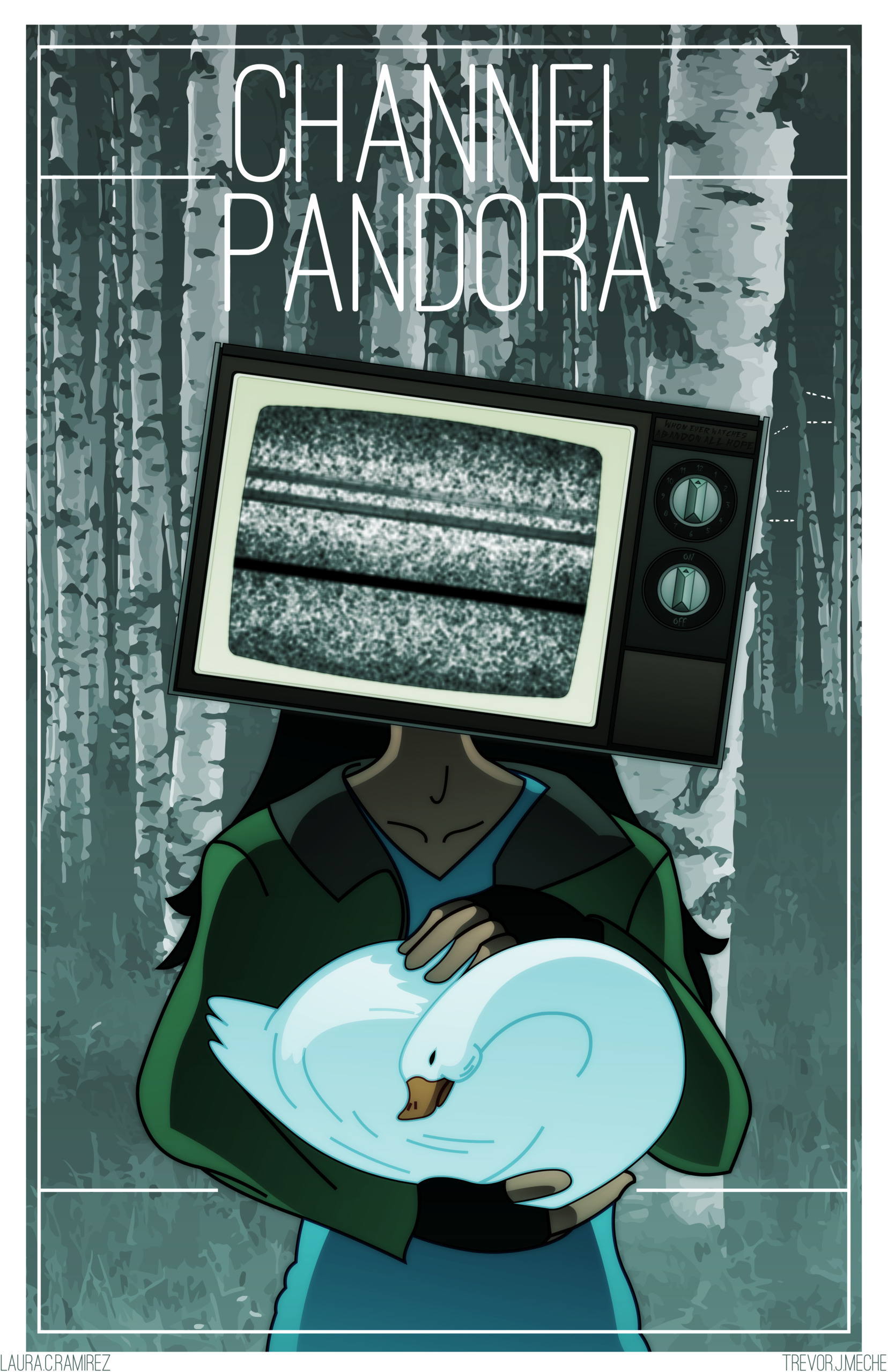 Channel Pandora: Paige Poster c - nakkers | ello