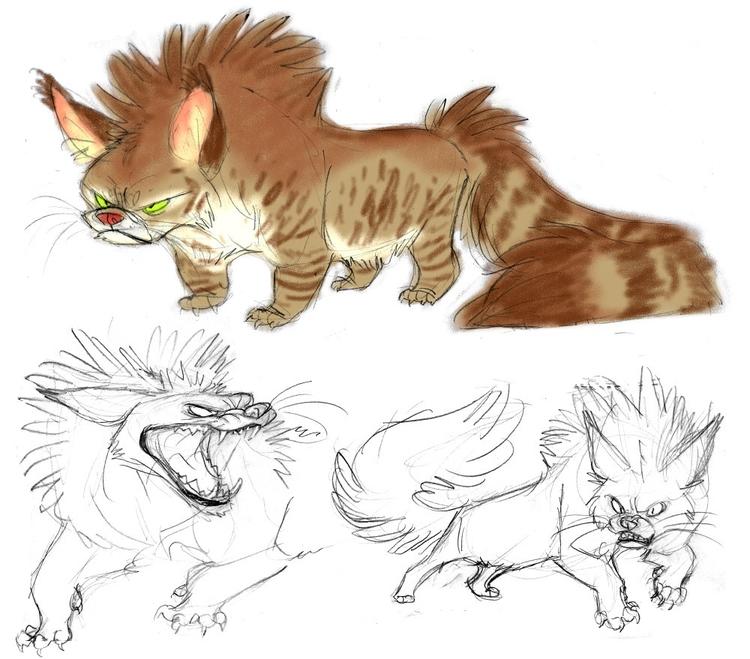 animals, creature, characterdesign - awamboldt | ello
