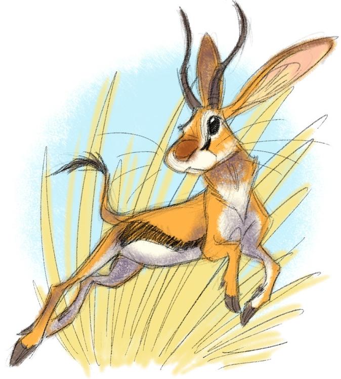 jackalope, animals, creature - awamboldt   ello