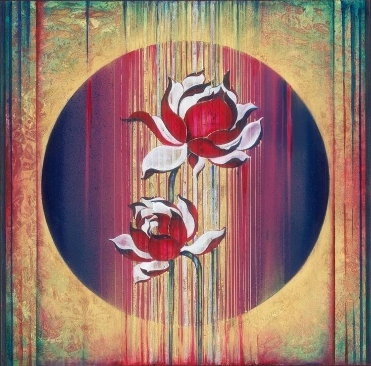 Mandala Materialisation-origina - annahannahart | ello