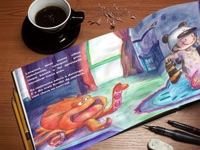 octopus, kids, pijamas - amandaloyolla | ello