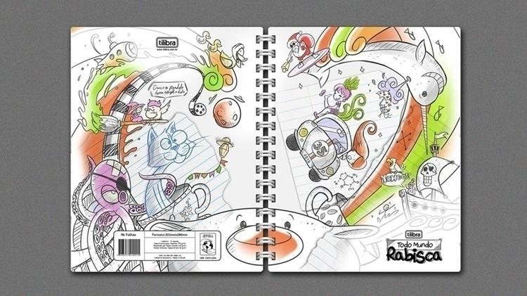 notebook, doodle - amandaloyolla   ello