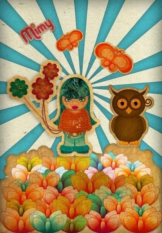 illustration, characterdesign - silviacossu | ello