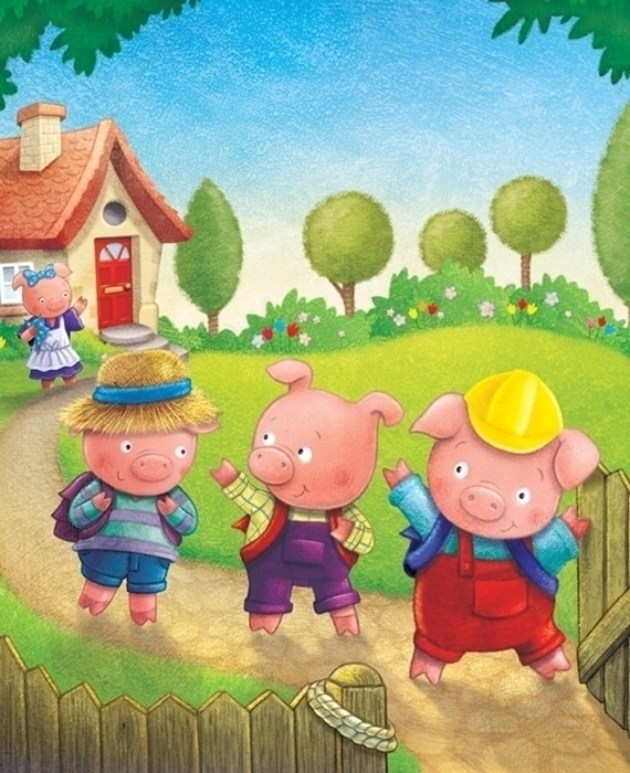 pigs - 3littlepigs#fairytale#cute#children'sbook - craigcameron | ello