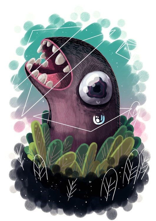 Grossy - illustration, gross, mole - indiana_jonas | ello