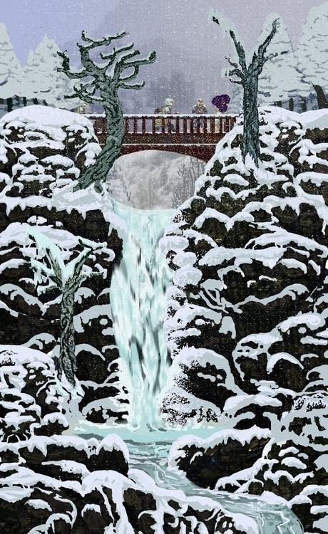 Frozen Falls - gameart, sprites - kennethshearer-1623 | ello
