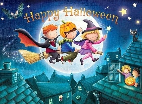 Netjets Happy Halloween card - craigcameron | ello