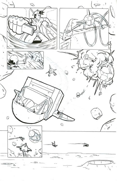30 Parsecs page 3 - comics, comicbooks - kylebrightbill | ello