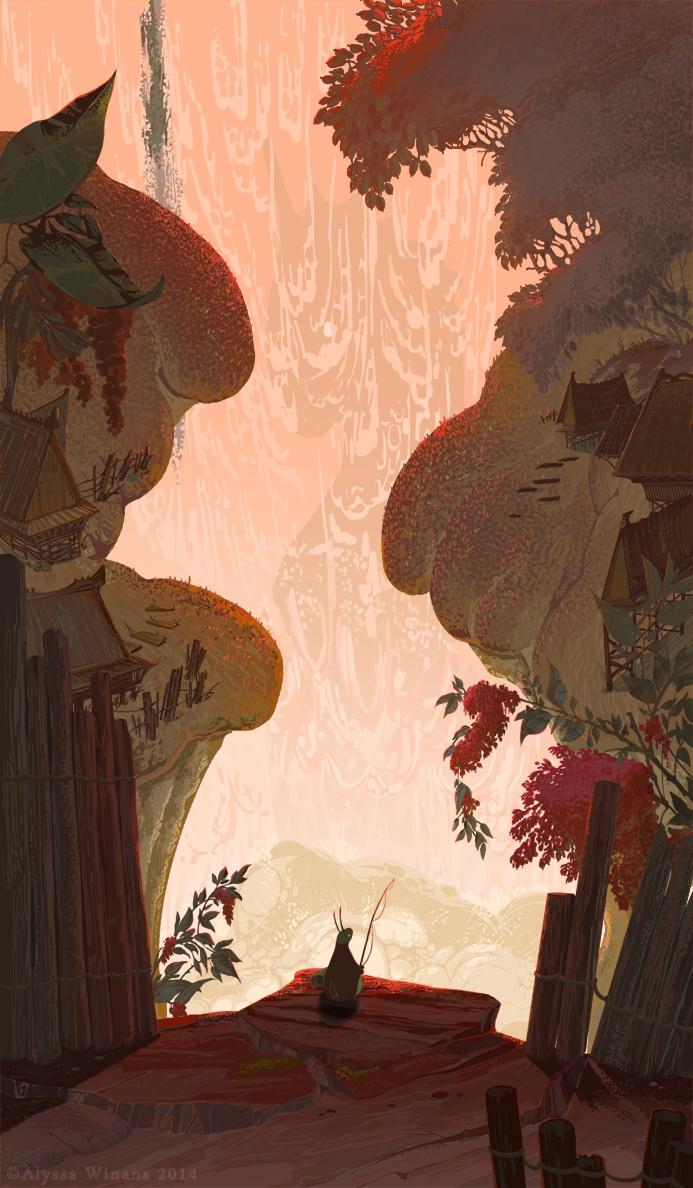 Reflections IV - illustration, children'sillustration - awinans   ello