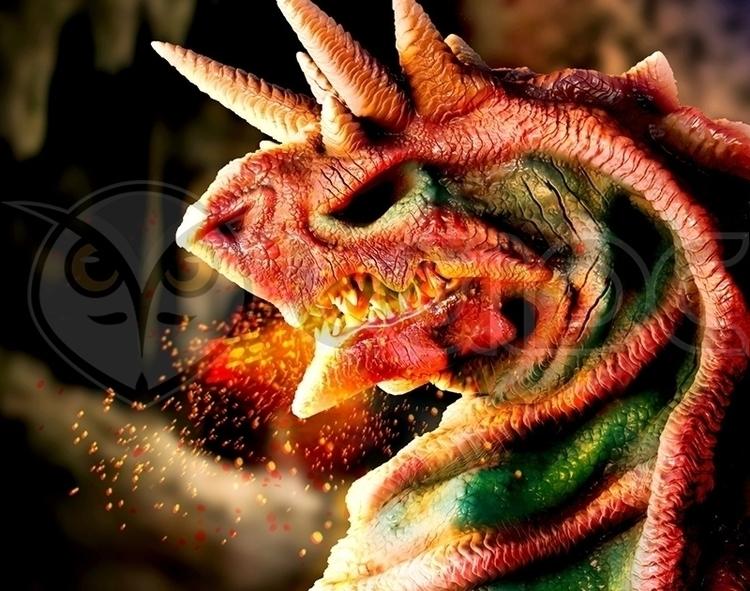 Imperial Dragon Fafnir - illustration - lgidc | ello