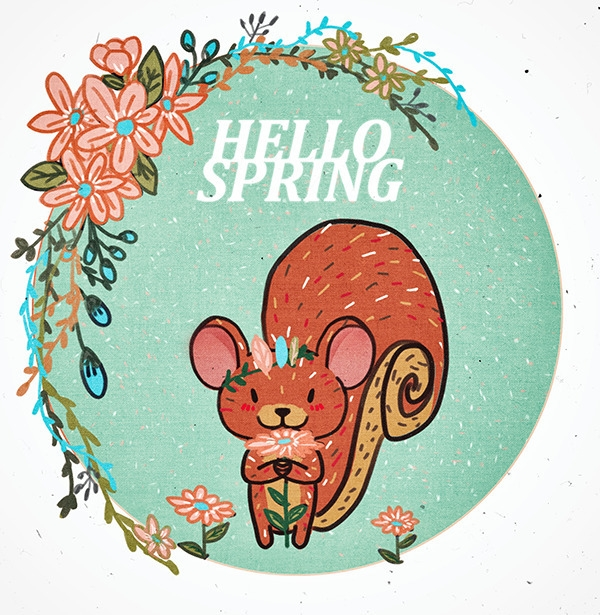 SPRING - illustration, painting - soso-6104 | ello