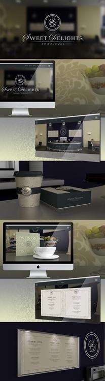 branding, sweet, dessert, shop - riesena | ello
