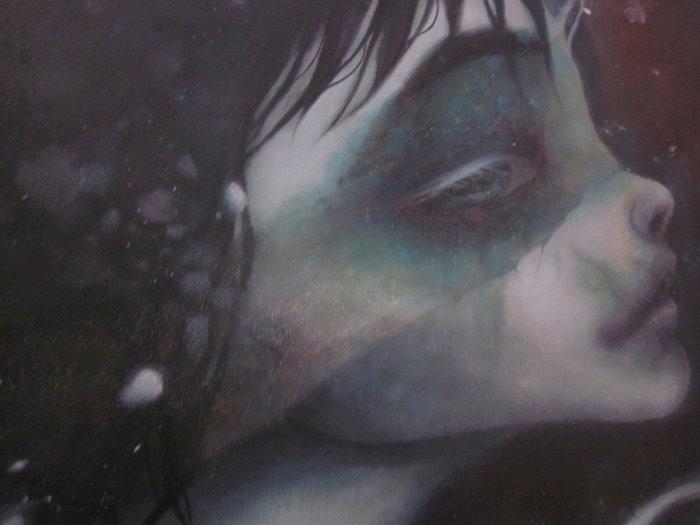 moonlight shadow... eundoll - painting - beekim | ello