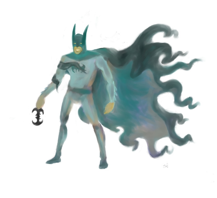 ol bat-fella - batman, conceptart - outofmoose | ello