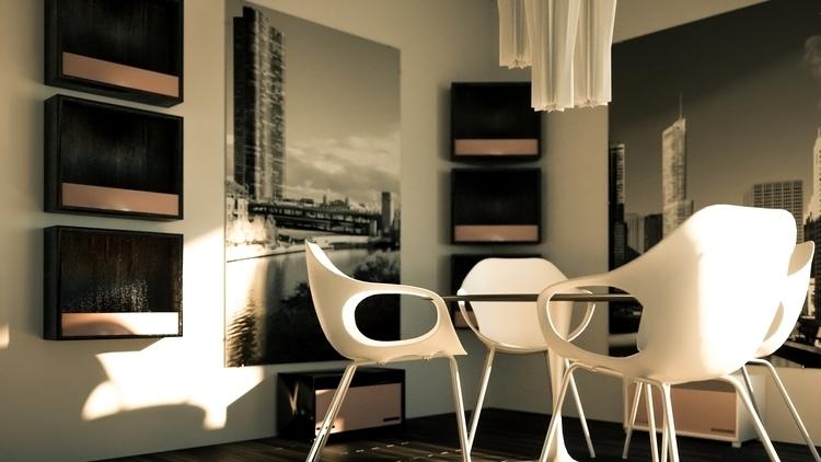 Dining Room - 3d - atolbert11 | ello