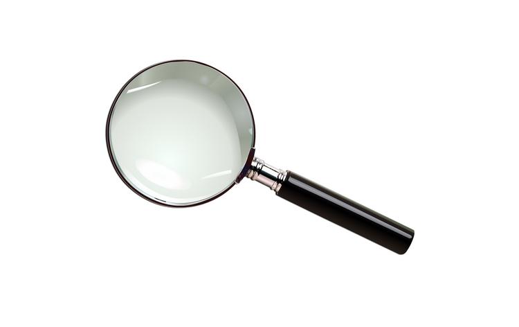 Magnifying glass - illustration - madguroo | ello
