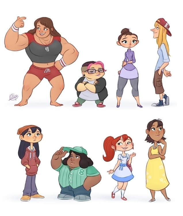 Random Characters 2 - luigil-2352 | ello